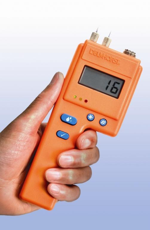Building materials moisture meter - Inspection