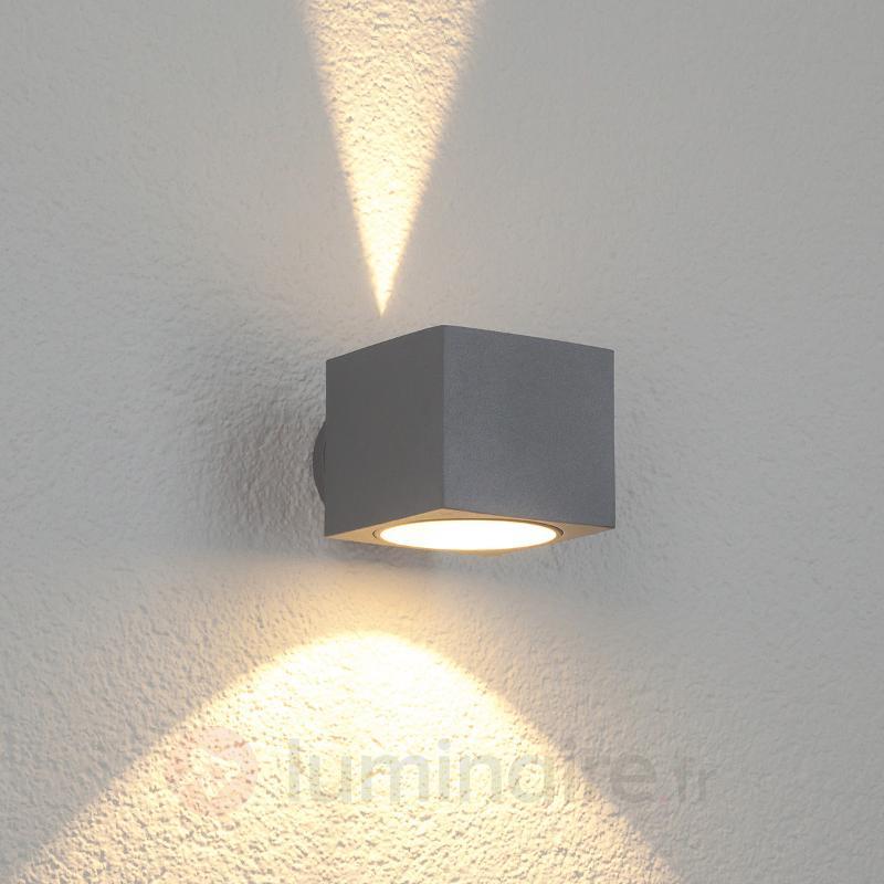 Applique d'extérieur carrée Modena Square - Luminaires appliqués