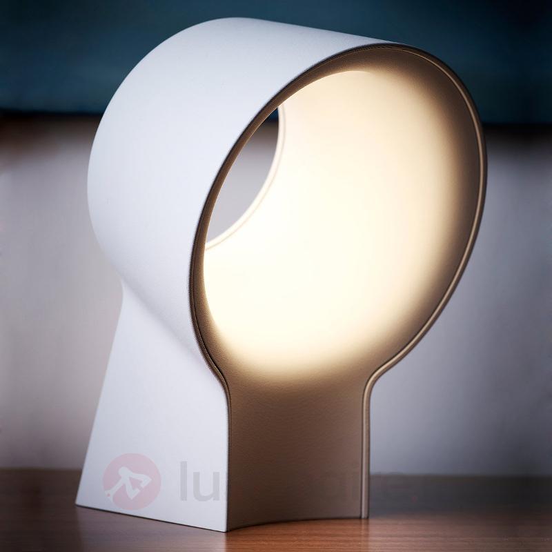Lampe à poser de designer La Lente, blanc - Lampes à poser LED