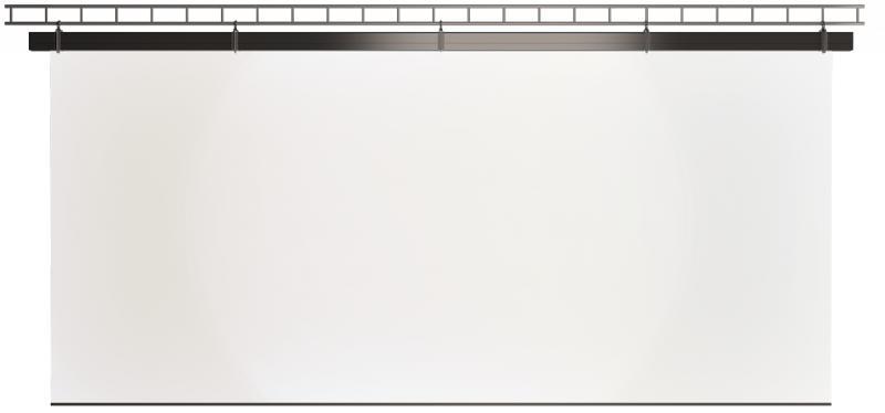 Large motorized screens