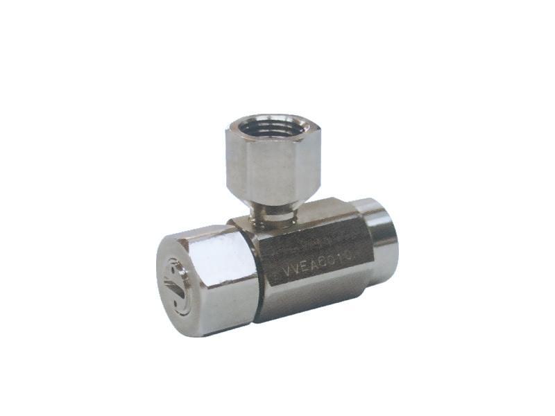 VVEA series – High impact flat spray semi fine fog nozzle - Pneumatic Spray Nozzles – All Spray Pattern