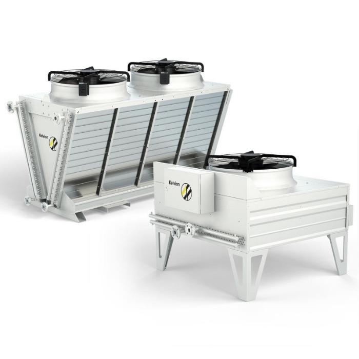 Dry Cooler - Prestazioni affidabili nel trasferimento termico e nella ventilazione