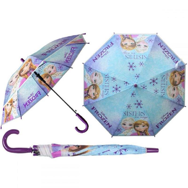 6x Parapluies automatique La Reine des Neiges - Parapluie