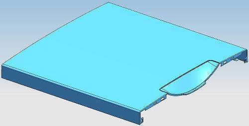 Moule de panneau avant de four à micro-ondes - Panneau avant du four à micro-ondes