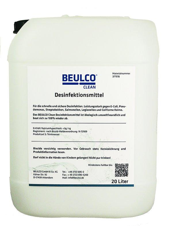 BEULCO Clean Desinfectant - For disinfecting drinking water and drinking water-contacting elements