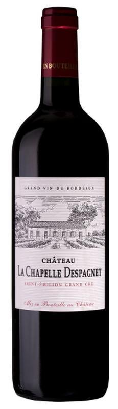 Saint-Emilion wine Grand Cru AOC - Château la Chapelle Despagnet