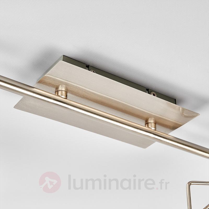 Plafonnier spot LED Agidio à 6 lampes - Plafonniers LED