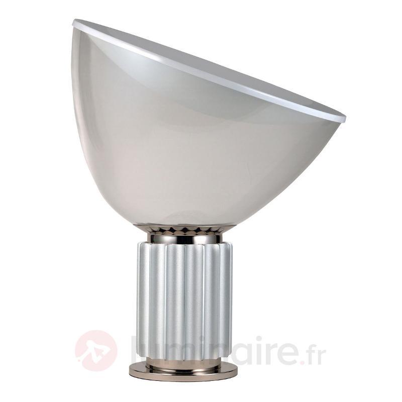 Lampe à poser futuriste LED TACCIA aluminium - Lampes à poser LED