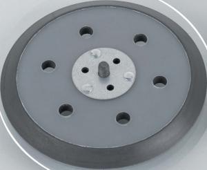 Schleifteller zum Schleifen von Flächen und Radien - Stützteller aus Fiberglas, Hart, Höhe 8 mm