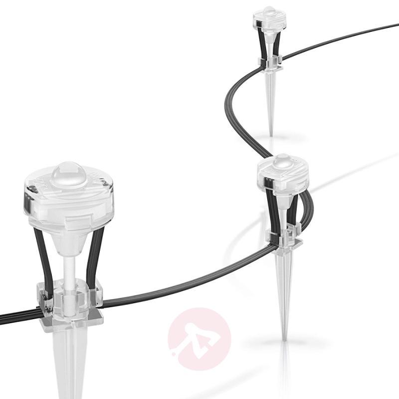 LED outdoor spotlight set Gardenspot Mini - 9-bulb - indoor-lighting