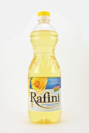 масло подсолнечное рафинированное дезодорированное -