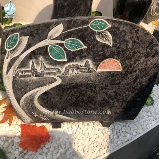 Wholesale Plaque Monument Granite Gravestone Plaque - Plaque