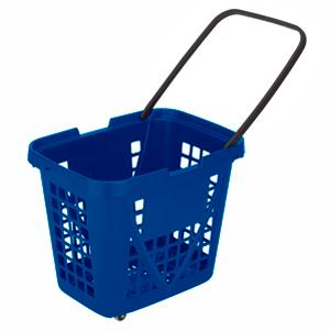 Big basket with wheels - Capacity for 80L