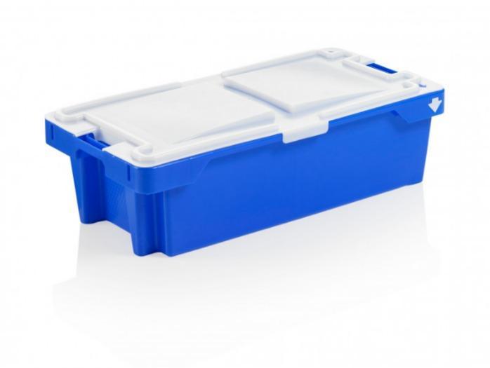 Bacs gerbables et emboîtables 15 – 75 l - Bacs gerbables et emboîtables, qualité alimentaire, PEHD, emboîtable, empilable