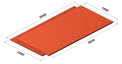 MRP MOBISTEK Mobile Road Pavements - composite materials