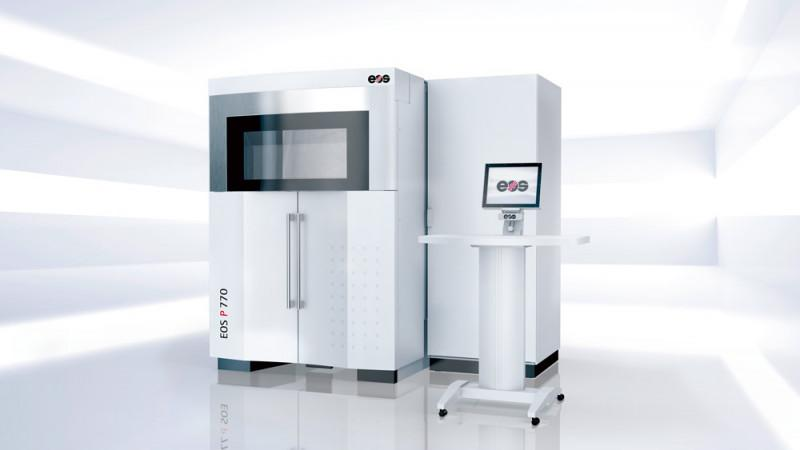 EOS P 770 - High productive Laser Sintering System for parts of up to one meter in length
