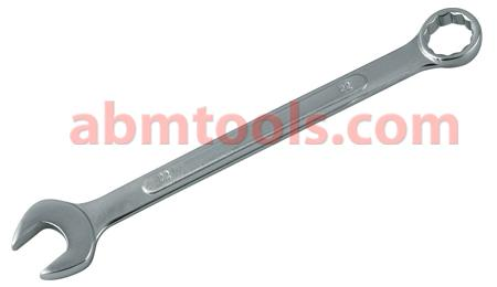 Combination Open and Ring End Spanner - Carbon steel - Both ends generally fit the same size of bolt.