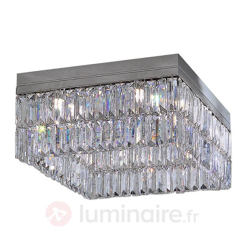 Plafonnier cristal PRISMA - Plafonniers en cristal