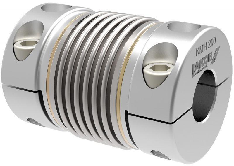 Metal bellows couplings KPH / KMH / KRH - Metal bellows couplings with splitted hub design on both sides