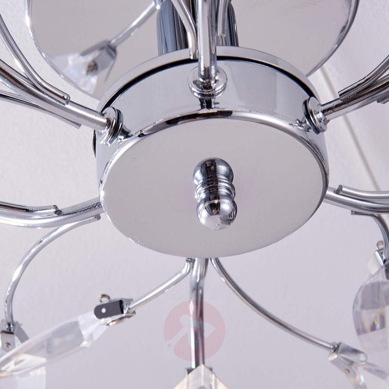 Floral LED ceiling light Kibra - indoor-lighting