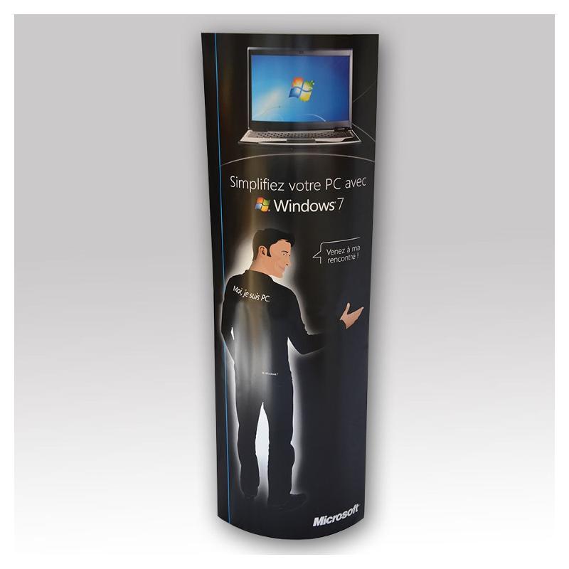 Totem carton - Pop up et stand publicitaire