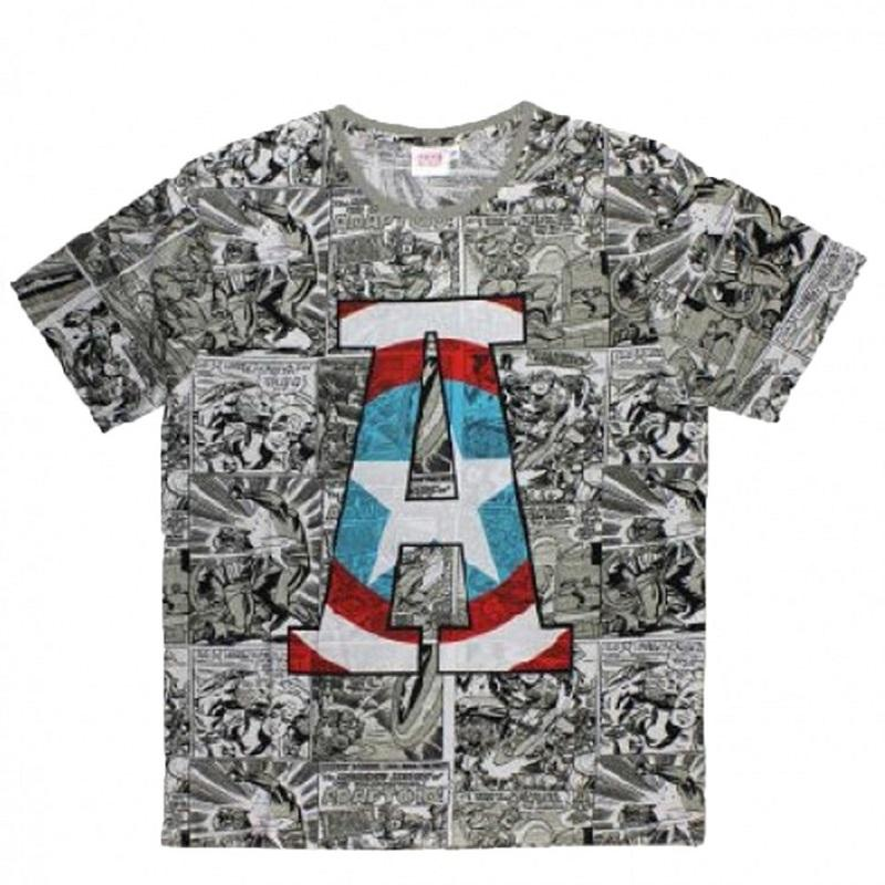 Großhändler T-shirt lizenz Avengers kind - T-shirt Kurzarm