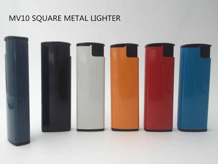 Rectangle Turbo Metal Lighter - MV10