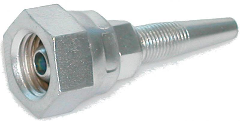 """DKR 1/4"""" DN 6,3 threaded insert - Steel"""