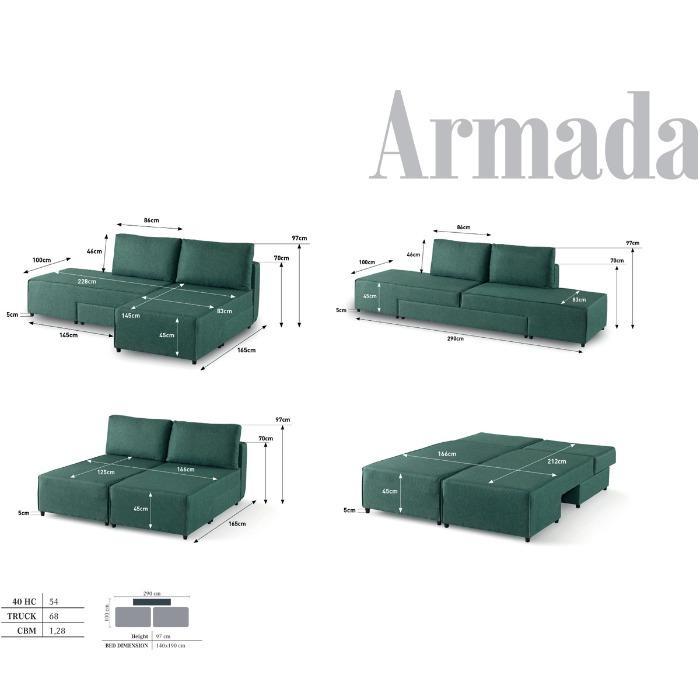 Sofá-Cama Para Espaços Pequenos - Fabricantes de sofás para dormentes em espaços pequenos