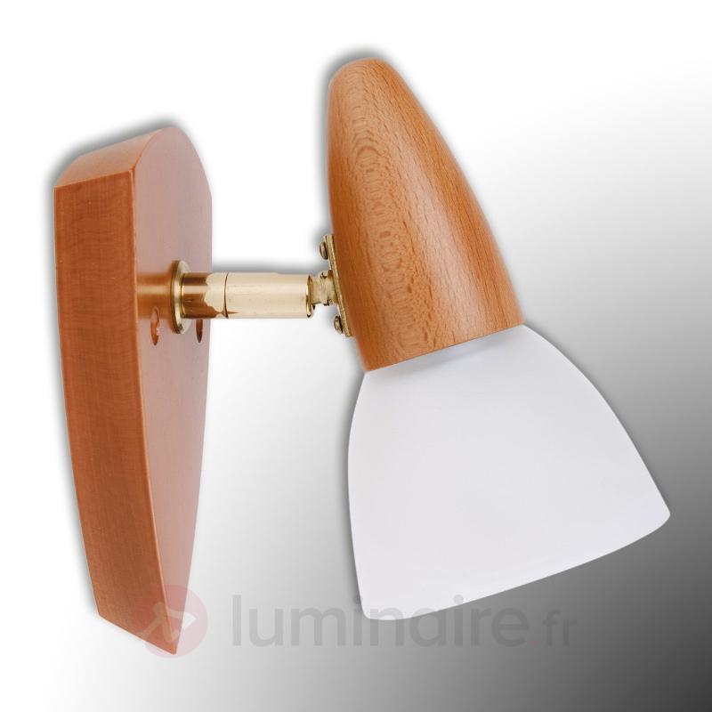 Séduisante applique Julia hêtre cerise - Appliques en bois
