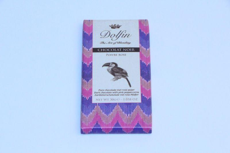Dolphin Dark with pink peppercorns 30g -