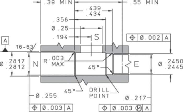 281 Spring Biased Shuttle Valve - null