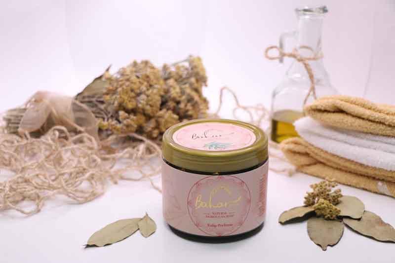BAHARHAN - Natural olive oil moroccan soap