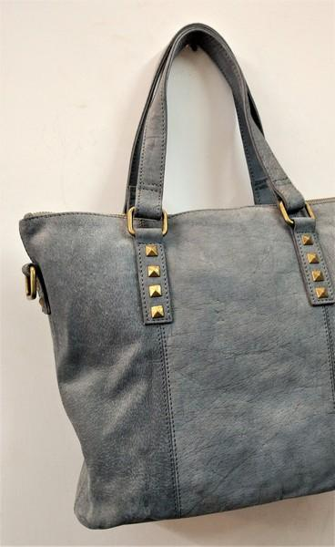 Leather bag for women - Grain leather women shoulder bag