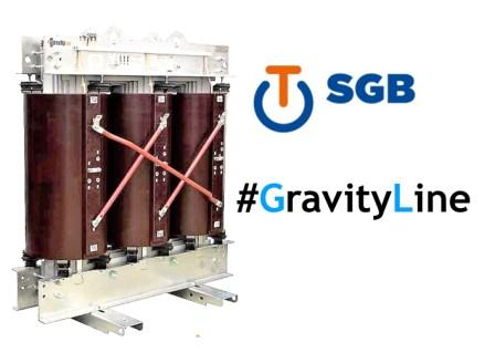 Transformateur sec enrobé de distribution GravityLine