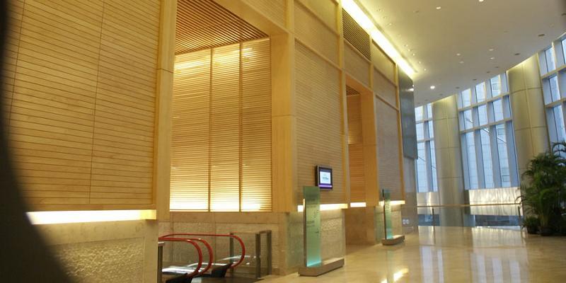 Timber acoustic panels  - Woodsorba