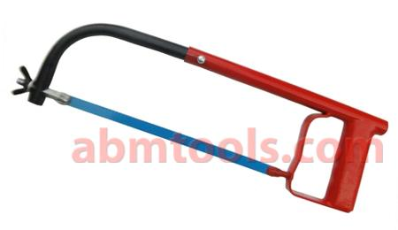 Tubular Hacksaw Frame - A hacksaw is a fine-toothed saw, originally and principally for cutting metal.
