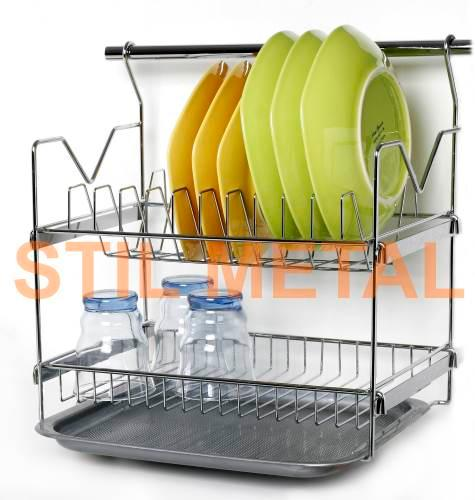 Wire Kitchen Ware  - Hanging Chrome Houseware