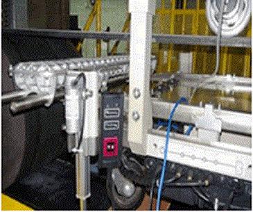 Correa transportadora de cable de acero Monitor en línea