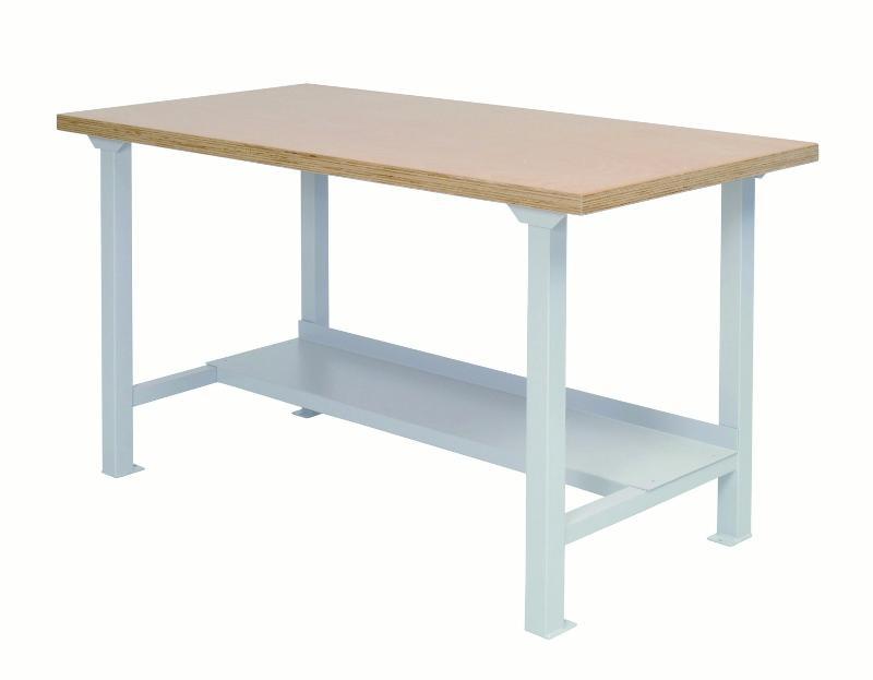 modular workbench series 1500 with shelf - 03.15.000.2A