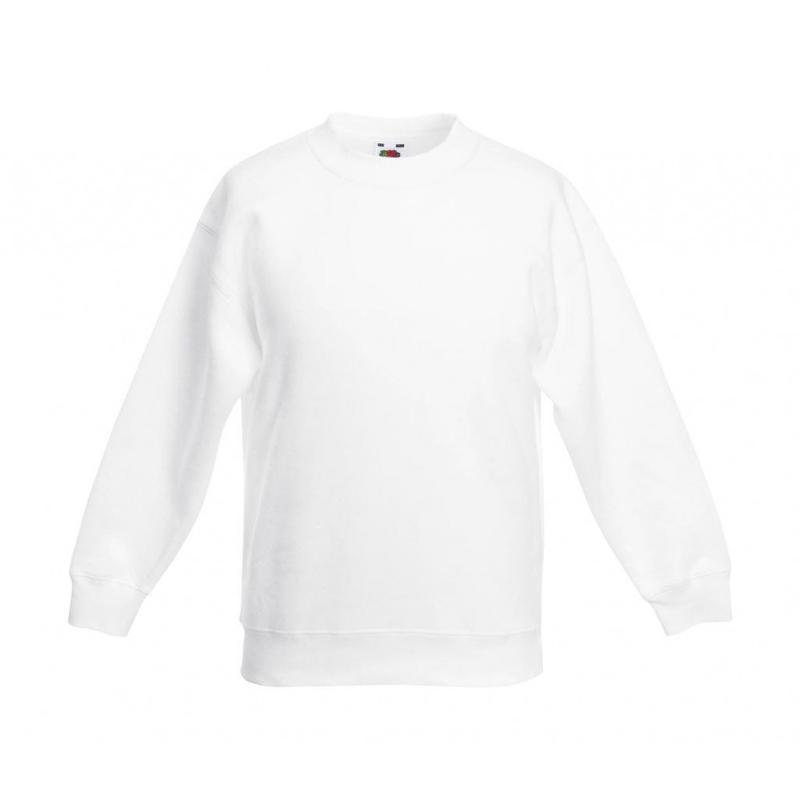 Sweat shirt enfants manches Set-in - Sans capuche
