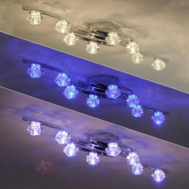 Plafonnier Henrika à 8 lampes - Plafonniers LED