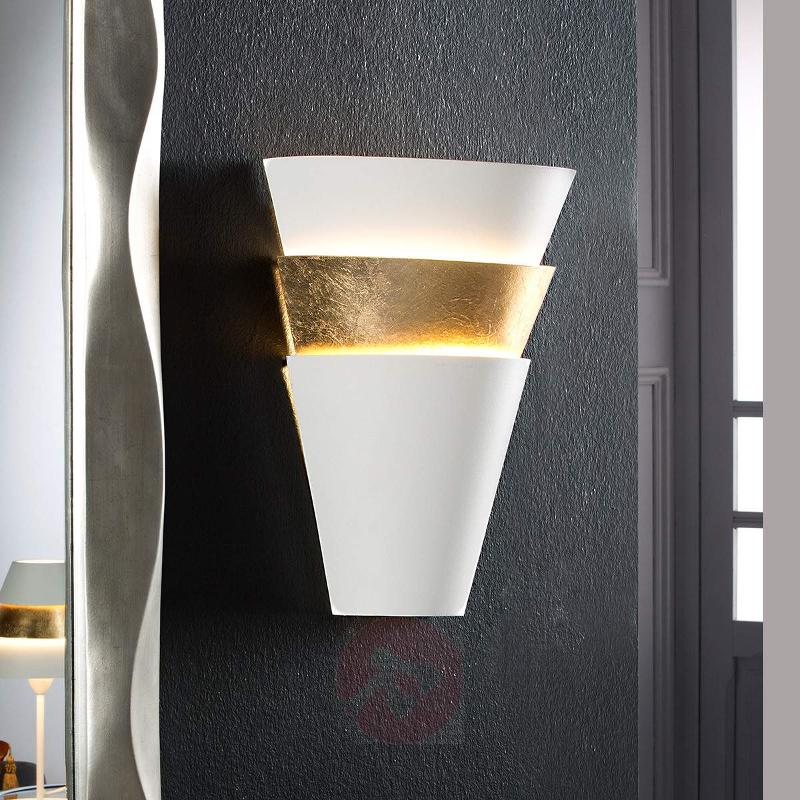 Wall light Isis with gold leaf finish - Wall Lights