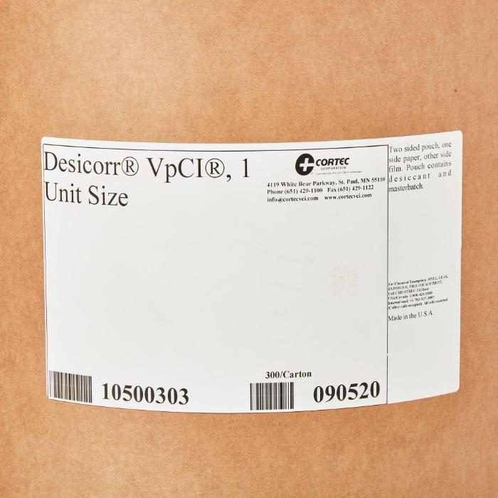 Desicorr VpCI® Desiccant Pouch  - Embalagem VpCI® de alto desempenho | EMBALAGENS PARA A EXPORTAÇÃO
