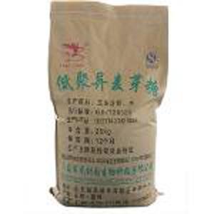 Isomaltozigosacaride (IMO) - 900 poudre - Le contenu de l'isomaltooligosacharide solide (IMO) est de 90%, blanc ou lait bl
