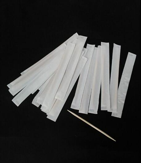 Paper wrapped toothpicks - Hotel toothpicks
