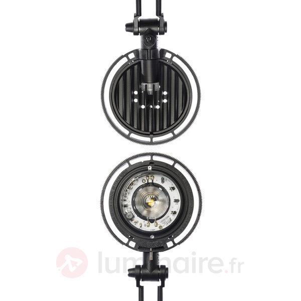 Lampe à poser LED Berenice noire - Lampes de bureau LED