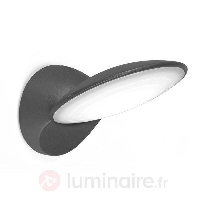Applique d'extérieur LED plate Tona - Appliques d'extérieur LED