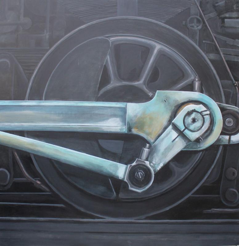 120x120 cm ~ Peinture