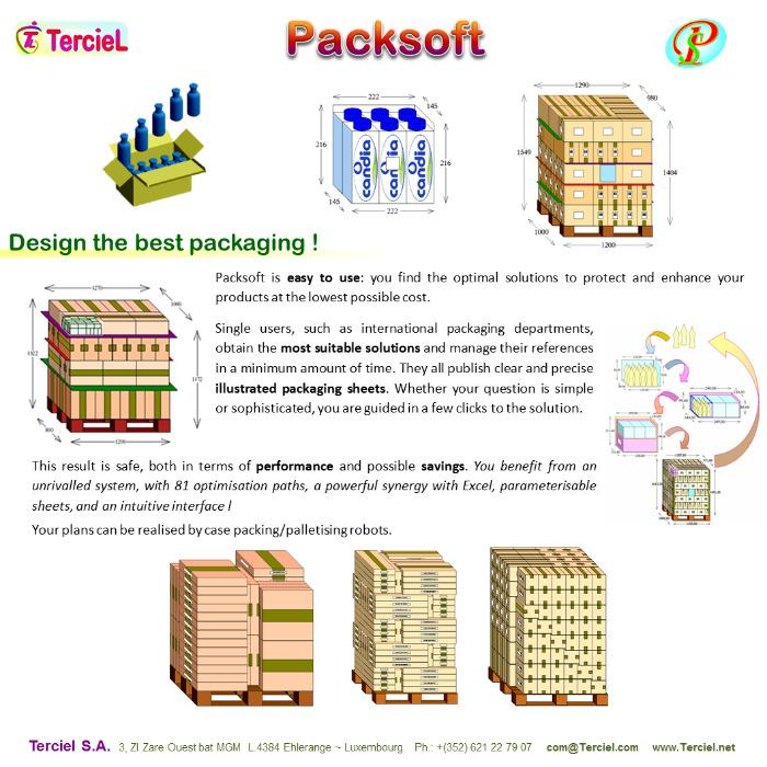 Packsoft English - The software for clever packaging and palletising optimisation